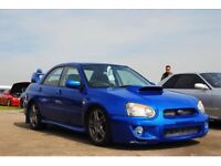 Subaru wrx, turbo blobeye