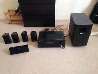 Onkyo A/V Receiver (Home Cinema) + Bass Amplifier