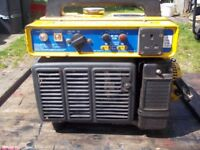 SMALL 600W SUZUKI 4 STROKE PETROL GENERATOR WITH LOW OIL ALERT VERY QUIET