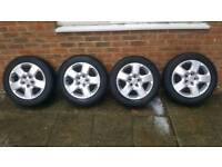 Vauxhall Astra zafira vectra wheels and tyres 205 55 16