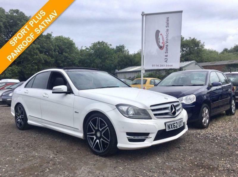 2012 62 MERCEDES-BENZ C CLASS C220 CDI 2.1 BLUEEFFICIENCY AMG SPORT PLUS AUTO 16