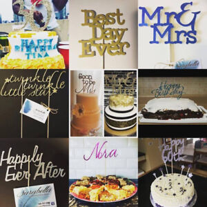 Customized Cake Toppers for Special Occasions!