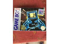 For Sale Original Retro Gameboy with Tetris