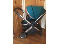 Oyster 2 Pushchair with deep topaz colour pack*used for 6 months*