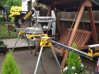 DE WALT heavy duty chop saw
