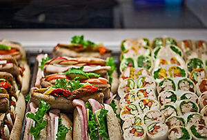 Cultures Catering Sandwiches Fresh Prepared Salad Health Food