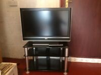 """Sony Bravia 32"""" TV and stand"""