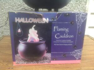 Chaudron décoratif pour Halloween