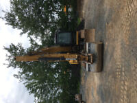 Excavator rental with operator - $90/hr