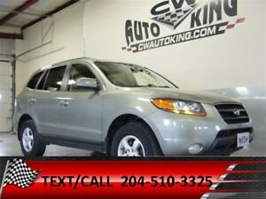 2009 Hyundai Santa Fe Limited / Leather / Roof / All Wheel