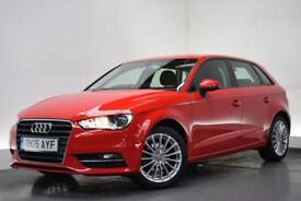 AUDI A3 2.0 TDI SE TECHNIK 5d 148 BHP (red) 2015