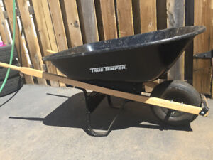Wheel barrow brand new bought this year used once. Moving sale