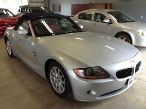 2003 BMW Z4 2.5 6cyl conv. 5.spd,184 HP ,225 km SALE $9999.99