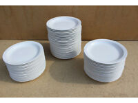 59 x Utopia pure white Plates