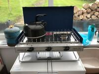 Campinggaz Camping Chef Stove and Grill plus Accessories