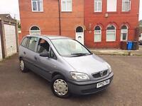 **2003 53 Reg Vauxhall Zafira Club 16v 1.8 7 SEATER 1 Owner 2x Keys 100% Brilliant Runner Bargain**