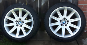 FS. BMW 745 OEM Style 95 rims with Falken Tires 19in