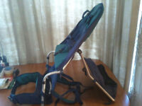 BACK CARRIER,KARRIMOR,MOTHERCARE,OUT& ABOUT,EARTH TOUR,APPROX 5/6MTHS-3/4YEARS,20 KG,TOUGH TRAVELER