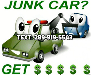 ⭐️Full $ Scrap Cars!️ Text 289.919.5543 (same-day pick-up)
