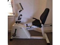 Commercial recumbent exercise bike Max user weight 180 kg Can deliver