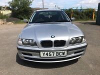 BMW 3 SERIES 316I 4 DOOR SALOON 1895cc (2001) PETROL