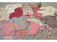 **More added* Baby Clothes bundle Newborn-1 month. Next dress