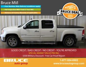 2011 GMC Sierra 1500 SLT 5.3L 8 CYL AUTOMATIC 4X4 CREW CAB LEATH