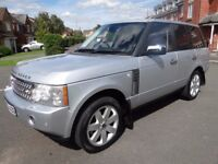 2006 RANGE ROVER VOGUE 3.6 TD V8 DIESEL AUTO FULL LEATHER SAT NAV TV SCREENS PART EX WELCOME
