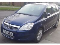 Vauxhall Zafira 1.9 CDTI 2009 Not Start& Drive SPARES OR REPAIR