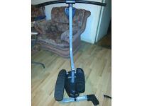 EGL Fit Gym Stepper Leg Toner Toning Workout Machine Low Impact Mini Gym Step