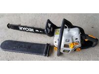 Ryobi 45cc chainsaw with 18 inch blade great condition