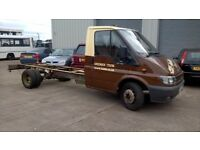 FORD TRANSIT RECOVERY TRUCK / CHASSIS CAB WITH BED