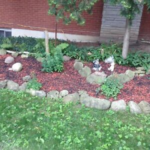 Mixed mulch (red & black)