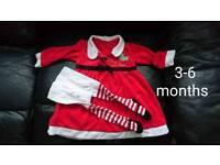 Xmas dress 3-6 months