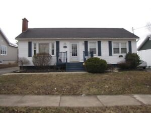 Beautiful Bungalow Near Moncton Hospitial with Detached Garage