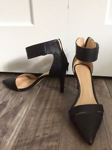 Strapping heels