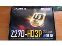 Gigabyte Z270-HD3P Motherboard NEW