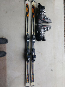 MENS SKI'S AND BOOTS
