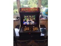 Bar top arcade machine.