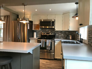 SHORT TERM RENTAL - FURNISHED HOUSE IN MONCTON