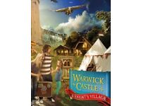 2X TICKETS FOR WARWICK CASTLE * SUNDAY 6th AUG *