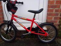 Boys 12inch Bike With Stabilizers