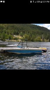 1990 supra pirata 23 foot direct drive boat