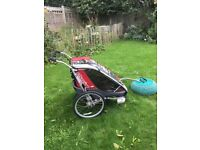 Chariot Couger double bike trailer