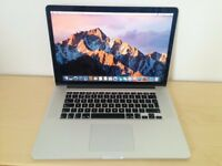 "Macbook Pro 15"" i7, 16GB RAM, 500GB SSD, NVIDIA GeForce"
