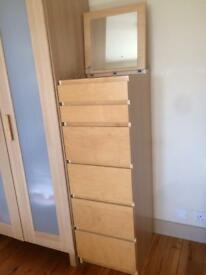 Chest of 6 drawers Ikea