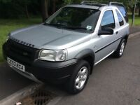 2003 Land Rover Freelander 2.0 TD4-2 owners-service history-12 months mot-great 4x4 value