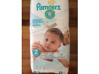 Pampers Premium Protection Sensitive New Baby Size 2 (48 Pack) Mini 3-6kg