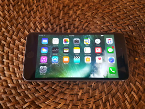 iPhone 6 plus 16gb Gray Rogers Fido  mint condition