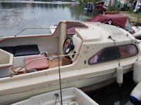 Shetland 498 cabin cruser boat